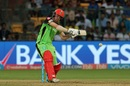 Travis Head prepares himself for a big heave, Royal Challengers Bangalore v Kolkata Knight Riders, IPL 2017, Bengaluru, May 7, 2017