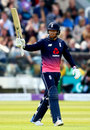 Jonny Bairstow brought up his fifty from 38 balls, England v Ireland, 2nd ODI, Lord's, May 7, 2017