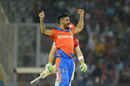 Pradeep Sangwan is stoked on dismissing Martin Guptill, Kings XI Punjab v Gujarat Lions, IPL 2017, Mohali, May 7, 2017