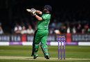 Paul Stirling pulls during a lively opening, England v Ireland, 2nd ODI, Lord's, May 7, 2017