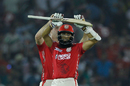 Hashim Amla and Shaun Marsh tried to address some concerns with their bats during their 125-run partnership , Kings XI Punjab v Gujarat Lions, IPL 2017, Mohali, May 7, 2017