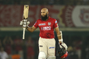 Hashim Amla struck his second century of the season, Kings XI Punjab v Gujarat Lions, IPL 2017, Mohali, May 7, 2017