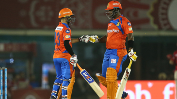 Dwayne Smith and Ishan Kishan shared a 91-run opening stand