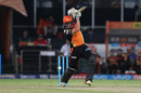 Moises Henriques muscles one towards cover, Sunrisers Hyderabad v Mumbai Indians, IPL 2017, Hyderabad, May 8, 2017