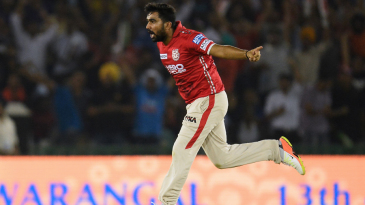 Rahul Tewatia removed Gautam Gambhir and Robin Uthappa on his debut game for Kings XI Punjab
