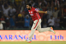Rahul Tewatia removed Gautam Gambhir and Robin Uthappa on his debut game for Kings XI Punjab, Kings XI Punjab v Kolkata Knight Riders, IPL 2017, Mohali, May 9, 2017