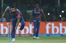 Zaheer Khan delivers a ball against Gujarat Lions, Gujarat Lions v Delhi Daredevils, IPL 2017, Kanpur, May 10, 2017