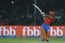 Ishan Kishan hooks a short-pitched delivery for a six, Gujarat Lions v Delhi Daredevils, IPL 2017, Kanpur, May 10, 2017