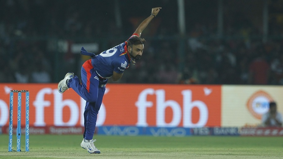 Amit Mishra removed Ishan Kishan in his first over