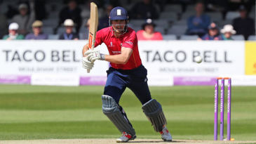 Alastair Cook was one of two Essex century-makers