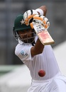Babar Azam punches down the ground, West Indies v Pakistan, 3rd Test, Roseau, 1st day, May 10, 2017