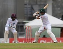 Babar Azam shapes to cut, West Indies v Pakistan, 3rd Test, Roseau, 1st day, May 10, 2017