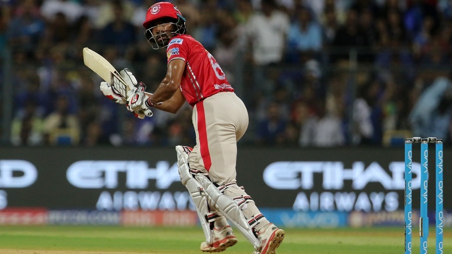Wriddhiman Saha looks on after playing a deft shot down the leg side