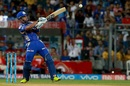 Lendl Simmons was in an aggressive mood from the first ball, Mumbai Indians v Kings XI Punjab, IPL 2017, Mumbai, May 11, 2017