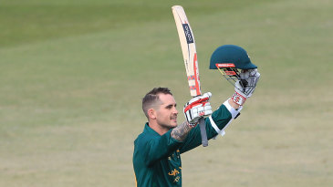 Alex Hales made the most of being dropped with a century