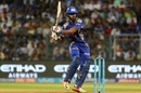 Nitish Rana struggled in his 12-ball stay, Mumbai Indians v Kings XI Punjab, IPL 2017, Mumbai, May 11, 2017