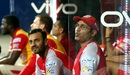 Virender Sehwag reacts after Glenn Maxwell drops an easy chance, Mumbai Indians v Kings XI Punjab, IPL 2017, Mumbai, May 11, 2017