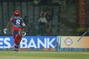 Sanju Samson was run out to a direct hit from Ben Stokes, Delhi Daredevils v Rising Pune Supergiant, IPL 2017, Delhi, May 12, 2017