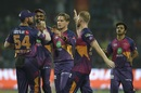 Adam Zampa had Daniel Christian holing out to long-on, Delhi Daredevils v Rising Pune Supergiant, IPL 2017, Delhi, May 12, 2017