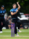 Ed Barnard bowls, for Worcestershire, Worcestershire v Warwickshire, Royal London Cup, Worcester, May 12, 2017
