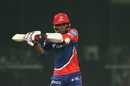 Marlon Samuels is a picture of concentration as he shapes up to pull, Delhi Daredevils v Rising Pune Supergiant, IPL 2017, Delhi, May 12, 2017