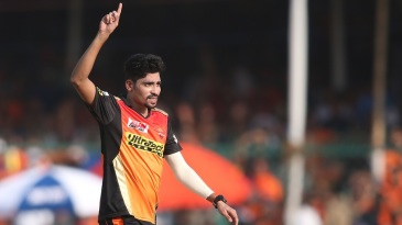 Mohammed Siraj took two wickets in the space of three deliveries