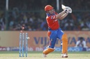 James Faulkner was bowled by Mohammed Siraj, Gujarat Lions v Sunrisers Hyderabad, IPL 2017, Kanpur, May 13, 2017