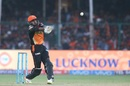 Vijay Shankar tries to execute the pull shot, Gujarat Lions v Sunrisers Hyderabad, IPL 2017, Kanpur, May 13, 2017