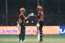 David Warner and Vijay Shankar took Sunrisers home, Gujarat Lions v Sunrisers Hyderabad, IPL 2017, Kanpur, May 13, 2017