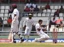 Mohammad Abbas picked up his maiden five-wicket haul, West Indies v Pakistan, 3rd Test, Roseau, 4th day, May 13, 2017