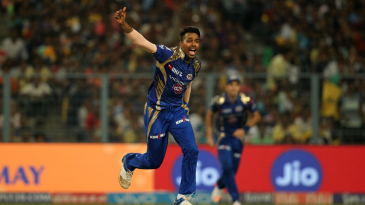 Hardik Pandya gave away only four runs off the final over