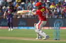 Shaun Marsh plays one off the back foot, Rising Pune Supergiant v Kings XI Punjab, IPL 2017, Pune, May 14, 2017