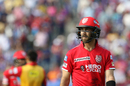 Glenn Maxwell fell for a duck, Rising Pune Supergiant v Kings XI Punjab, IPL 2017, Pune, May 14, 2017
