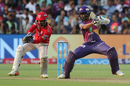 Ajinkya cuts one square, Rising Pune Supergiant v Kings XI Punjab, IPL 2017, Pune, May 14, 2017