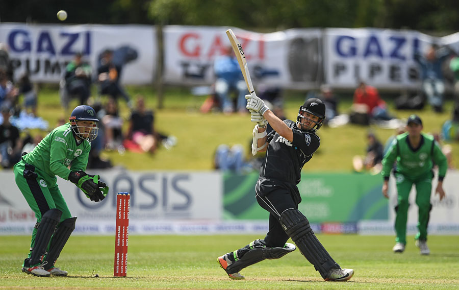Ireland set tough target by New Zealand