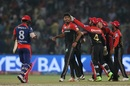 Avesh Khan struck early for Royal Challengers Bangalore, Delhi Daredevils v Royal Challengers Bangalore, IPL 2017, Delhi, May 14, 2017