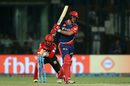 Corey Anderson was stumped by Vishnu Vinod off Travis Head, Delhi Daredevils v Royal Challengers Bangalore, IPL 2017, Delhi, May 14, 2017