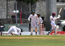 Babar Azam dives forward at short leg to catch Vishaul Singh off bat and pad, West Indies v Pakistan, 3rd Test, Dominica, 5th day, May 14, 2017