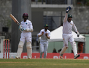 Sarfraz Ahmed appeals for a bat-pad catch against Shane Dowrich, West Indies v Pakistan, 3rd Test, Dominica, 5th day, May 14, 2017