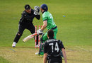 Niall O'Brien's maiden ODI century was ended by a stumping, Ireland v New Zealand, Tri-nations series, 2nd match, Malahide, May 14, 2017
