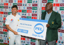 Yasir Shah was adjudged Player of the Series, West Indies v Pakistan, 3rd Test, Dominica, 5th day, May 14, 2017