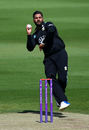 Ravi Rampaul plots his next move, Surrey v Hampshire, Royal London Cup, Kia Oval, May 14, 2017