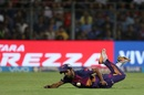 Shardul Thakur's diving effort saved his team some runs, Mumbai Indians v Rising Pune Supergiant, Qualifier 1, IPL, Mumbai, May 16, 2017