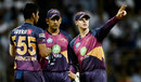Washington Sundar, MS Dhoni and captain Steven Smith discuss field placements, Mumbai Indians v Rising Pune Supergiant, Qualifier 1, IPL, Mumbai, May 16, 2017