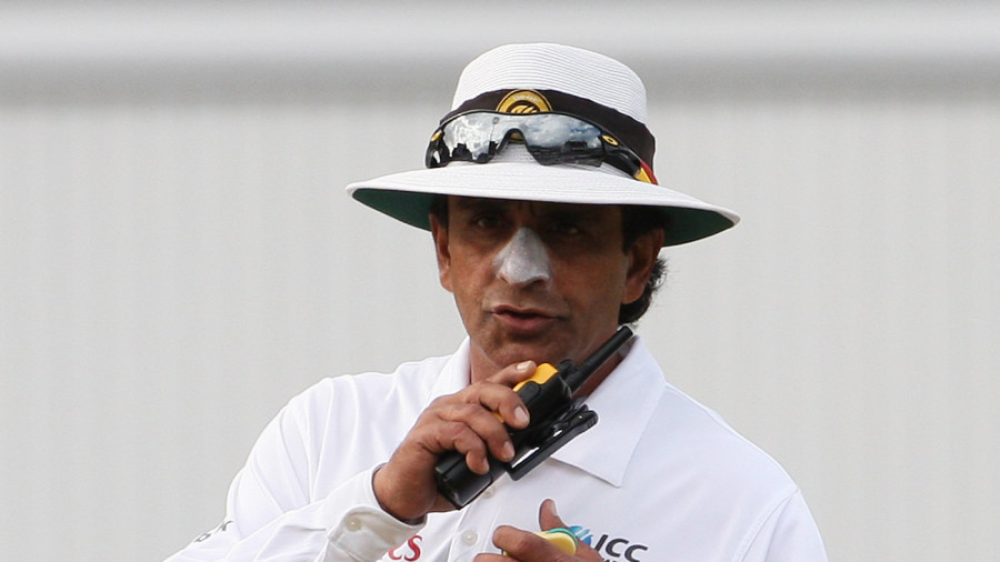 Right on: Asad Rauf's decisions were overturned less than 23% of the time, the lowest among all umpires
