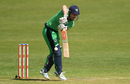 Ed Joyce struck a solid 46 opening the innings, Ireland v Bangladesh, Tri-nation series, Malahide, May 19, 2017