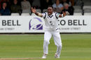 Fidel Edwards appeals for the wicket of Alastair Cook, Essex v Hampshire, Specsavers Championship Division One, Chelmsford, May 19-22