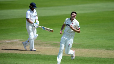 Jamie Overton produced an impressive opening spell