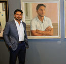 Kumar Sangakkara's portrait was unveiled at Lord's before the London derby, Middlesex v Surrey, Specsavers Championship Division One, Lord's, May 19, 2017