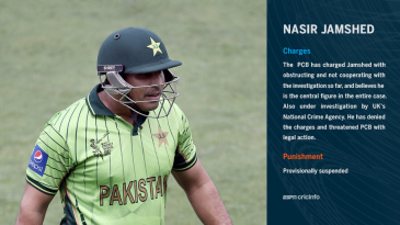 PCB charge against Nasir Jamshed
